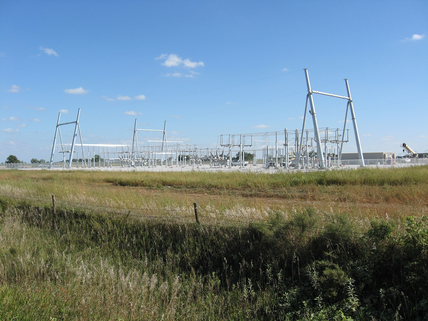 Meadow Grove 230-kv Switch Yard